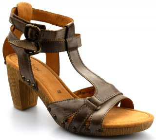 Gabor sandals 03.800.73 brown leather