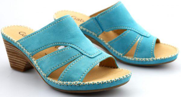 Gabor sandals 05.761.10 blue nubuck