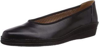 Gabor 06.400.37 black leather  Gestrobelter walking shoes