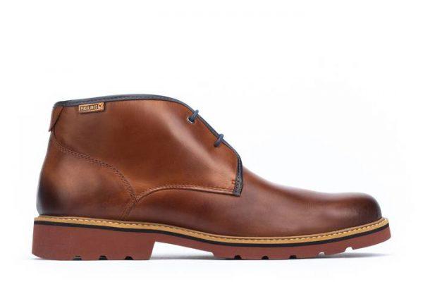 Pikolinos BILBAO M6E-8320 Leather Ankle Boots for Men - Cuero