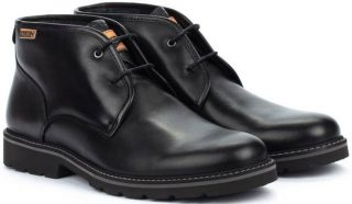 Pikolinos BILBAO M6E-8320 Leather Ankle Boots for Men - Black