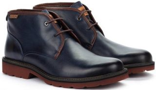 Pikolinos BILBAO M6E-8320 Leather Ankle Boots for Men - Blue
