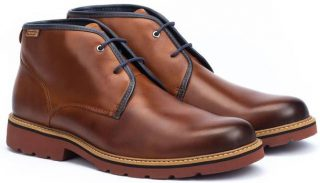 Pikolinos BILBAO M6E-8320 Leather Ankle Boots for Men - Cuero