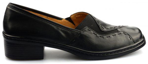 Gabor pumps 22.046.57 black leather       WIDE FIT