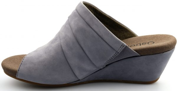 Gabor sandals 45.714.19 lavendel violet nubuck      WEDGES