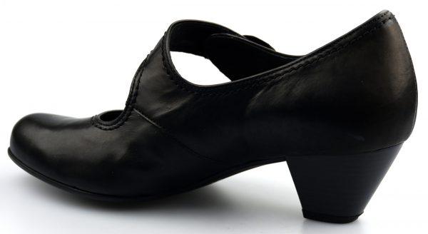 Gabor pumps 46.147.57 black leather   WIDE FIT