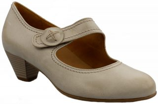 Gabor pumps 46.147.62 beige leather     WIDE FIT