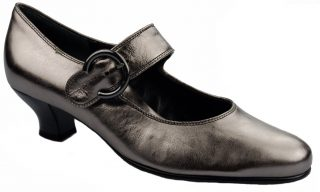 Gabor pumps 62.129.98 metallic silver leather