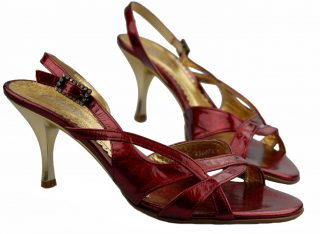 Gabor sandal pump 61.723.95 red patent leather