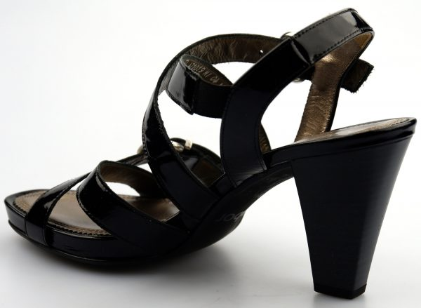 Gabor sandal 61.791.97 black patent leather