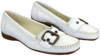 Gabor mocassin 62.522.50 white leather