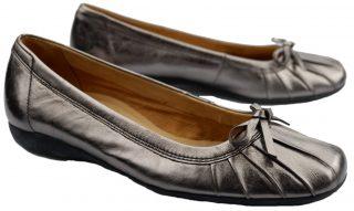 Gabor ballerina 62.618.98 silver leather