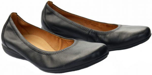 Gabor ballerinas 62.620.57 black leather