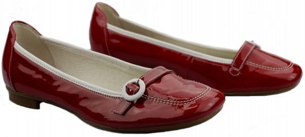 Gabor ballerina 64.116.95 red patent leather