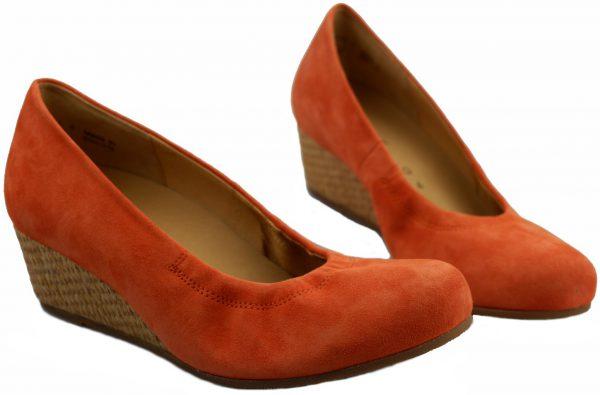 Gabor pumps 62.600.22 orange suede   WEDGES
