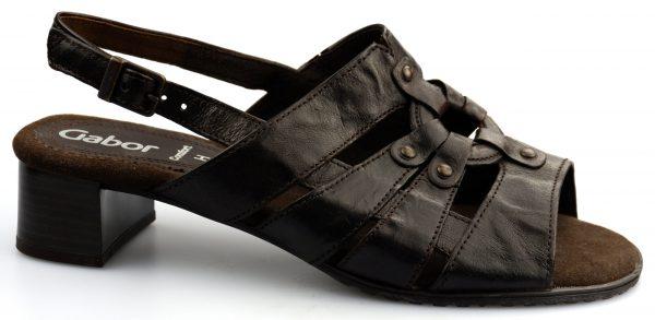 Gabor sandal 66.536.25 brown leather