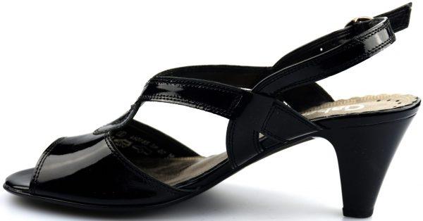 Gabor 66.565.97 sandal black leather
