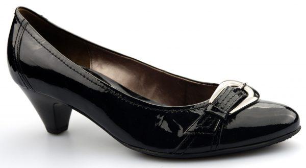 Gabor pumps 71.282.97 black patent leather