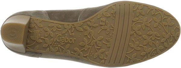 Gabor pumps 82.171.18 taupe metallic leather