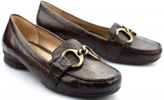 Gabor slip-on 84.202.28 brown leather