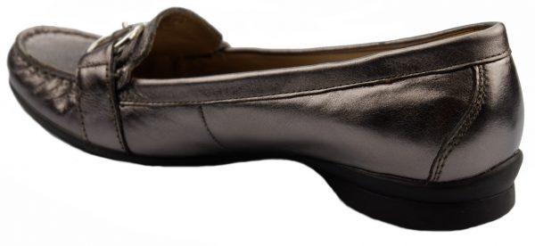 Gabor slip-on 84.202.69 metallic silver leather