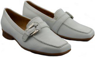 Gabor slip-on 85.301.21 white leather