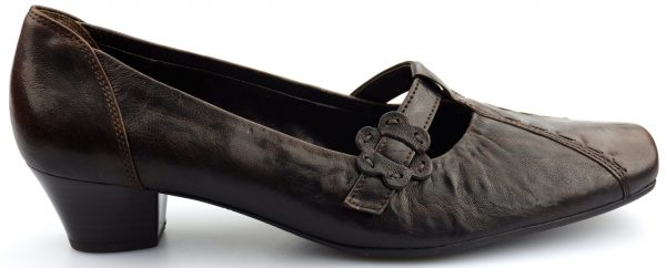 Gabor pump 96.186.15 brown leather