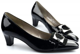 Gabor pumps 75.183.97 black leather
