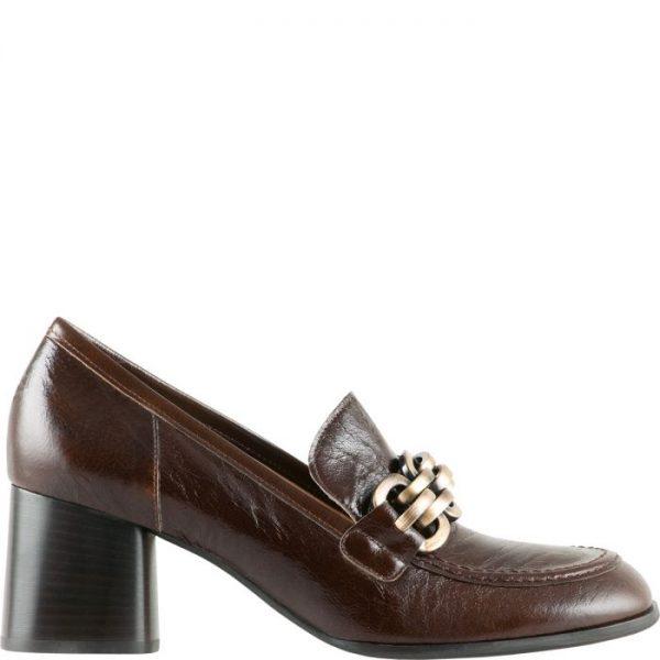 Högl pumps Amanda 0-106211-2500 nougat smooth leather