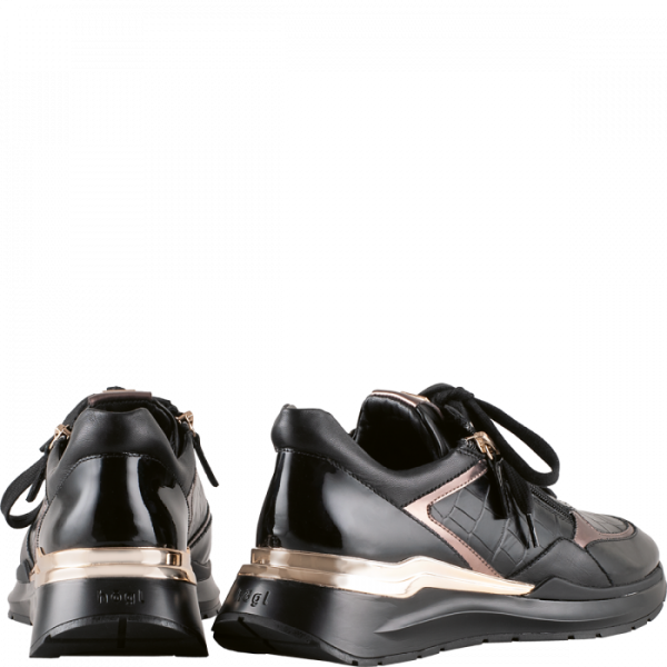 Högl sneakers Future 0-101307-0100 black embossed leather