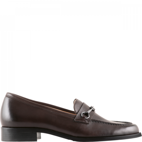 Högl slippers Bowie 0-102703-8600 dark brown smooth leather