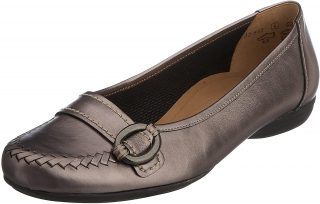 Gabor ballerina 02.632.98 silver metallic leather