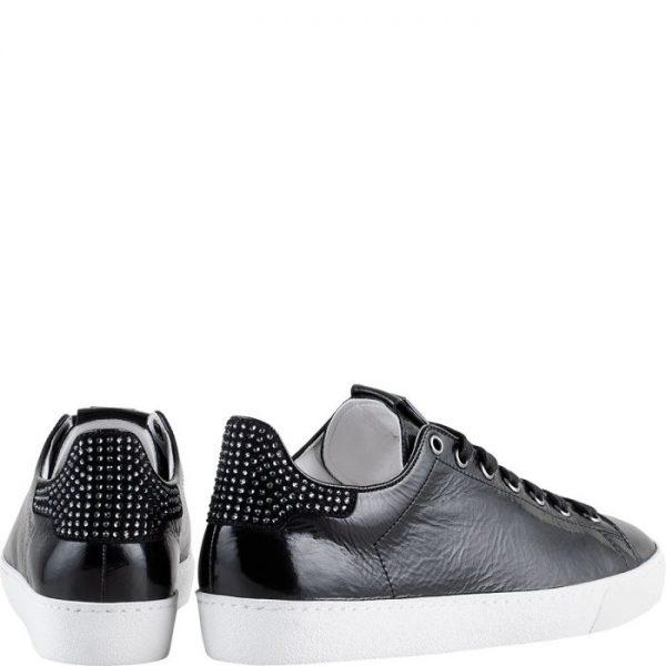 Högl sneakers GLAMMY 0-100345-0100 black leather swarovski