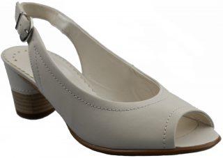 Gabor pump/sandal 06.570.21 off white leather