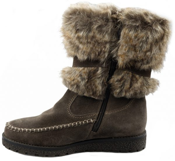 Gabor 36.502.39 warm lined women boot grey