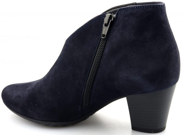 Gabor ankle boots 36.580.36 dark blue suede    WIDE FIT