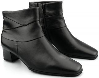 Gabor ankle boots 36.622.57 black lined WIDE FITTING