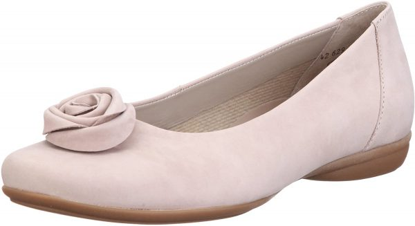 Gabor ballerina 42.629.39 taupe soft nubuck