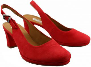 Gabor pumps 62.200.48 red suede