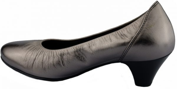 Gabor pump 82.170.98 silver metallic leather