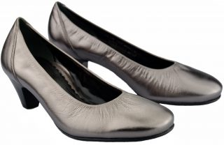 Gabor pump 82.170.98 silver metallic leather