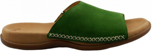 Gabor slippers 83.705.11 green nubuck