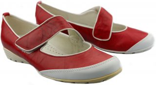 Gabor flat slip-on 84.122.55 red leather