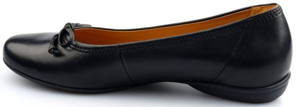 Gabor ballerinas 62.621.57 black leather
