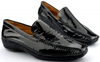 Gabor flat slip-on 52.501.91 black patent leather