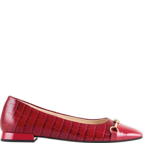 Högl ballerinas Peggy 0-101044-8300 cherry patent leather