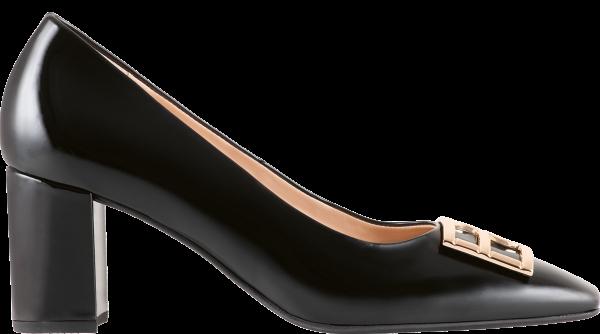 Högl pumps Rosette 0-105024-0100 black leather