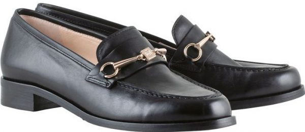 Högl slippers BOWIE 0-102703-0100 black smooth leather