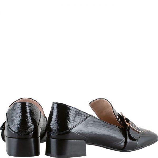 Högl slip-on BRIDGE 0-102520-0100 black patent leather
