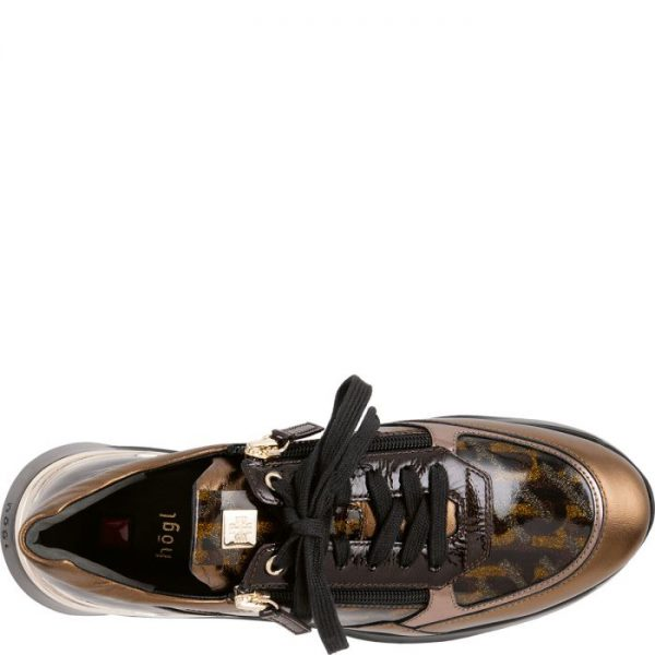 Högl sneakers Future 0-101305-7099 bronze patent leather